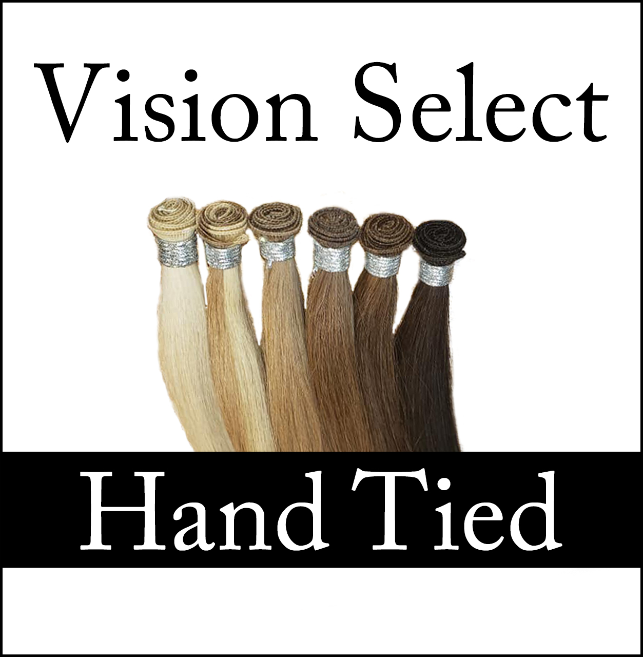 Hand Tied hair extensions by Vision Select